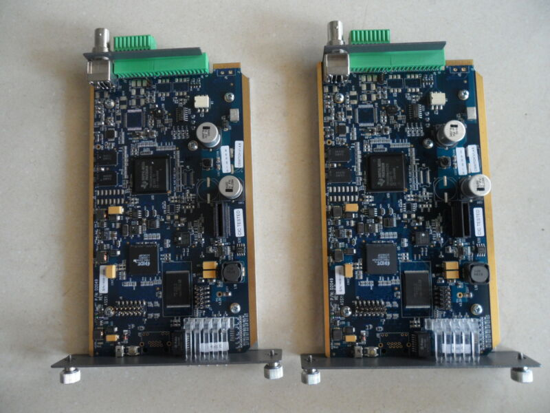 Lot of 2 Cisco Boards EVE2100 CIVS-SG1AECMD-C16= Video Encoder Card Module