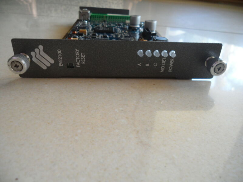 Cisco EVE2100 CIVS-SG1AECMD-C16 VS STRMGR Gateway 1CH SERIES VIDEO Encoder CVG16