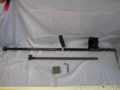 Carbon Fiber Balanced Shaft for Garrett Infinium & Sea Hunter w/lower Coil Rod