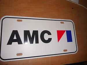 1970S-AMC-AMX-JAVELIN-MATADOR-HORNET-PACER-GREMLIN-X-JEEP-LICENSE-PLATE
