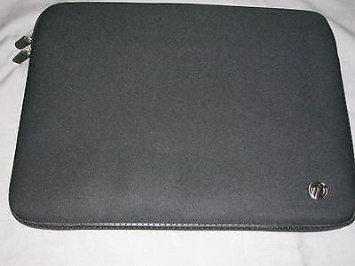Targus Netbook Sleeve 14x11 Neoprene Laptop Ipad Protect Case Black