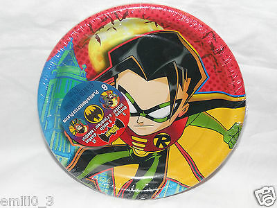 Batman & Robin Dessert Plates Party Supplies