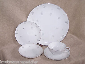 Mid-Century-Retro-Atomic-Cosmic-5-pc-Dinnerware-Place-Settings-multiples-availab