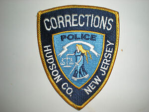 HUDSON COUNTY, NEW JERSEY DEPARTMENT OF CORRECTIONS POLICE PATCH