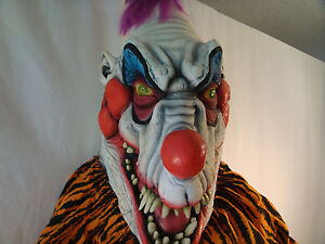 Vintage 1987 klownzilla mask killer klowns from outer for Outer space studios