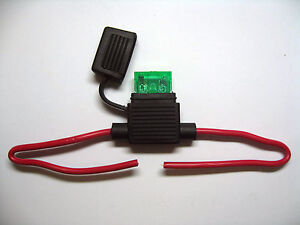 In Line standard waterproof Blade Fuse Holder fuses 30a 30amp kit car boat bike