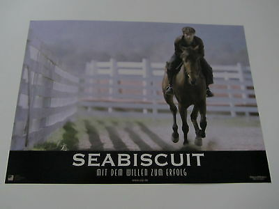 SEABISCUIT Lobby Cards/Stills - TOBEY MAGUIRE, Horse Racing