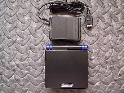 Nintendo Game Boy Advance SP Black and Blue Handheld System on Rummage