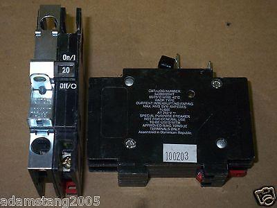Cutler Hammer Qcf  Qcr 2 Pole 20 Amp 120 240V Qcr2020ht Circuit Breaker