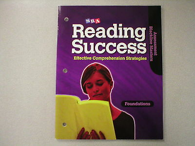 Sra Reading Success Foundations Assessment Blackline Masters 0076184846