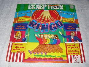 EKSEPTION-NEW-FORMULA-BINGO-VERY-RARE-SWEDEN-REL-LP-1974-PHILIPS