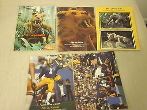 1979-1981-Pitt-NCAA-Football-Dan-Marino-Programs-5-Different-EXMT