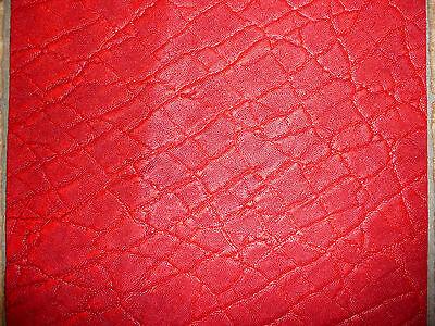 "Кожа, шкуры Leather 12""x12"" Red ELEPHANT"