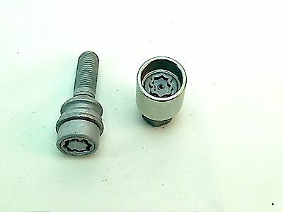 Audi Porsche Vw Wheel Lock Key Lug Bolt 14x1.5x34mm