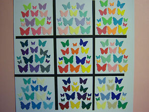 100-Martha-Stewart-Classic-Butterfly-Paper-Die-Cuts-Punches-3-size-Your-Choice