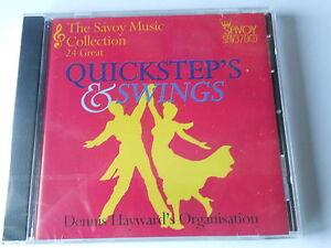 SEQUENCE DANCING cd DENNIS HAYWARD quicksteps & swings 24 tracks