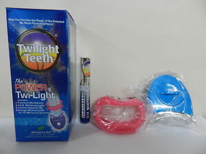 NEW TWILIGHT TEETH UV TOOTH WHITENING TANNING BED OR HOME KIT WHOLESALE