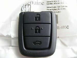 BRAND NEW GENUINE HSV HOLDEN GM COMMODORE VE REMOTE KEY BUTTONS