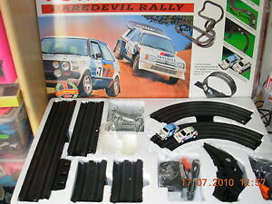 TOMY-AFX-AURORA-RACING-DAREDEVIL-RALLY-Slot-Car-New-and-boxed-X1-RARE-VINTAGE