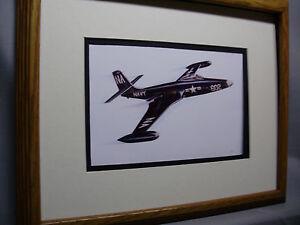McDonnell-F2H-Banshee-Jet-Fighter-Model-Airplane-Box-Top-Art-Color-artist