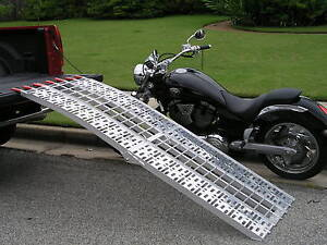 7-5FT-PLATED-HARLEY-MOTORCYCLE-LOADING-RAMP-RAMPS-truck