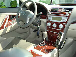 toyota camry 2007 2011 dash trim kit ebay. Black Bedroom Furniture Sets. Home Design Ideas