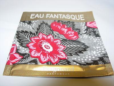Womens Fragonard Eau Fantasque Towelette 2 Ml Sample Perfume Edt Jasmine Amber