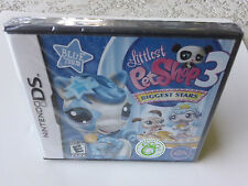 Littlest Pet Shop 3: Biggest Stars - Blue Team  (Nintendo DS, 2010) NEW
