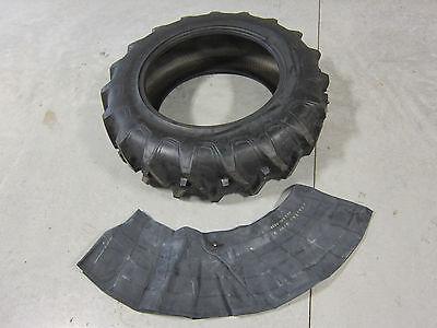 13.6x28 Tractor Tire + Innertube International Case Ih 8 Ply 13.6 28 R1
