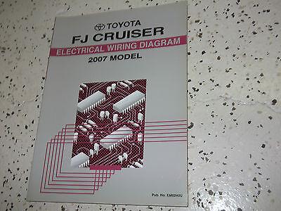 2007 Toyota FJ CRUISER Electrical Wiring Diagram Service Shop Repair Manual EWD