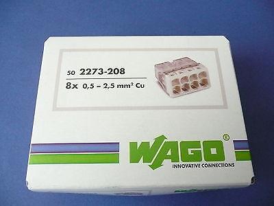 25x WAGO Klemmen Neu 2273-208