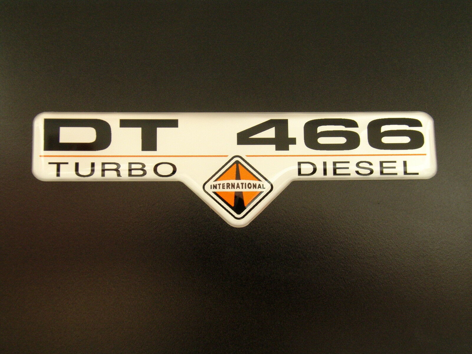 International Dt 466 Td Emblem Supersized Satin