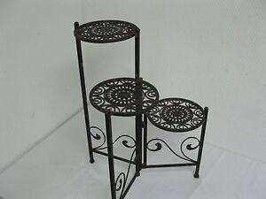 metall pflanztreppe blumentreppe blumenst nder blumentisch. Black Bedroom Furniture Sets. Home Design Ideas