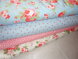 cath kidston ikea rosali fabric 4 styles amp size choices ebay. Black Bedroom Furniture Sets. Home Design Ideas