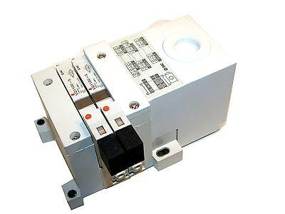 Smc 2 Solenoid 24v Stack Up Bank Assembly Vq1100-5