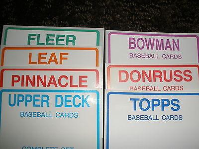 2016  Topps   Archives   Baseball  Set    300