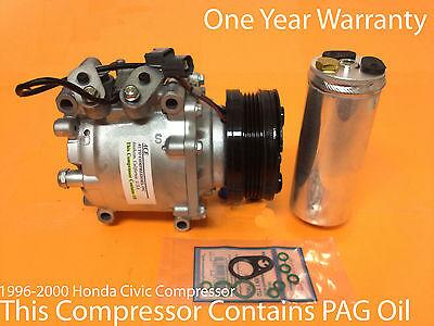 1996 2000 Honda Civic Compressor All Models Remanufactured Compressor Kit wWRTY