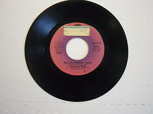 Stacy-Lattisaw-Baby-I-Love-You-Love-On-A-Two-Way-Street-45-RPM-Cotillion-Records