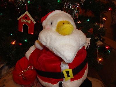 Talking Aflac Duck Holiday Duck 2006 Large Santa Ho Ho Santa Clause Duck So Cute