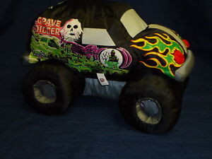 14-Good-Stuff-plush-GRAVE-DIGGER-Bad-to-the-Bone-MONSTER ...