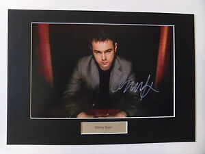 Danny Dyer signed autograph photo