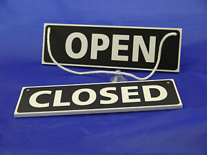 Open / Closed Sign - Hanging Sign - Shop Window / Door Sign