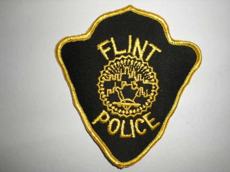FLINT, MICHIGAN POLICE DEPARTMENT PATCH