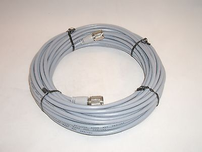 Workman 8x-50-pl-pl-gry 50ft Rg-8x Antenna Coax Patch Cable Gray Molded Pl-259s