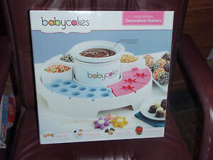 babycakes multi function decoration station chocolatier