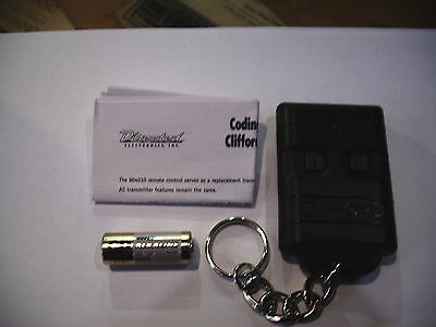 NEW DEI CLIFFORD 904010 REPLACEMENT REMOTE CONTROL FOB WITH BATTERY