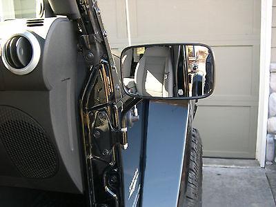 JEEP mirrors 2012  2017 Rectangular 5X8 BLACK wrangler ALL models  Ridecraft  JK