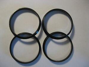 4-HUBCENTRIC-Hub-Centering-Rings-72-6-72-66-10-2001-2011-NISSAN-and-INFINITY