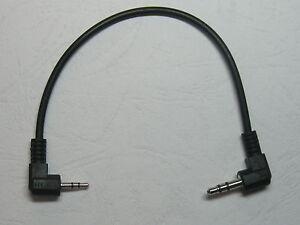 1-pcs-Nickel-Plated-Angle-2-5mm-to-3-5mm-Stereo-Plug-Male-Audio-Cable-18cm-0-18m