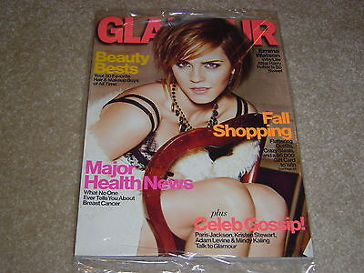Emma Watson October 2012 Glamour Magazine Partially Sealed